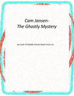 Cam Jansen-The Ghostly Mystery Novel Unit with Literary and Grammar Activities