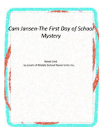 Cam Jansen-First Day of School Mystery Unit with Literary and Grammar Activities