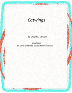 Catwings Novel Unit With Grammar and Literary Activities