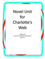 Charlotte's Web Unit with Literary and Grammar Activities