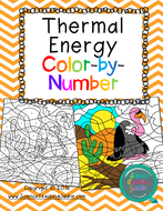 Thermal Energy: Methods of Heat Transfer Color-by-Number TEKS 6.9A & TEKS 6.9B