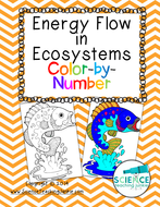 Energy Flow in Ecosystems Color-by-Number