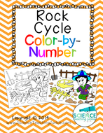 Rock Cycle Color-by-Number