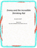 Emmy and the Incredible Shrinking Rat Unit With Literary and Grammar Activities