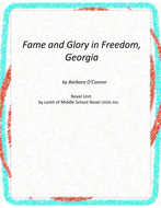 Fame and Glory in Freedom, Georgial Unit With Literary and Grammar Activities