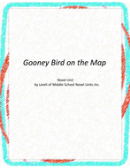 Gooney Bird on the Map Novel Unit with Literary and Grammar Activities