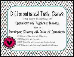 OrderofOperationsAlgebraicThinkingDifferentiatedTaskCards.pdf
