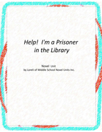 Help! I'm a Prisoner in the Library Literary and Grammar Activities