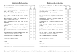 Science Self Assessment Examples For Scientific Skills Teaching Resources Here are some tips on how to sample: science self assessment examples for