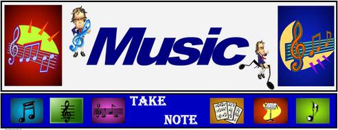 "Music Banner #2: ""Take Note!"""