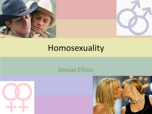 PPT on homosexuality