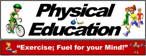 """PE Banner- Upper Grades #4: """"Exercise; Fuel for your Mind"""""""