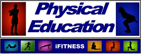 "PE Banner- Upper Grades #5: ""iFITNESS"""
