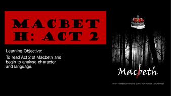 Macbeth - Act 2