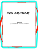 Pippi Longstocking Novel Unit with Literary and Grammar Activities