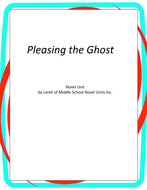 Pleasing the Ghost Novel Units with Literary and Grammar Activities