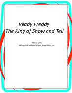 Ready Freddy-King of Show and Tell Unit with Literary and Grammar Activities