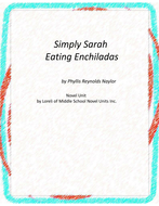 Simply Sarah Eating Enchiladas Novel Unit with Literary and Grammar Activities