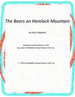 The Bears on Hemlock Mountain Novel Unit w/ Literary and Grammar Activities