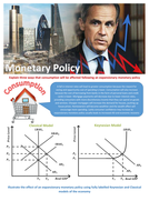 Monetary Policy Worksheet with Answers