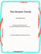 The Elevator Family Novel Units with Literary and Grammar Activities