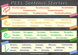 PEEL Paragraphs Sentence Starters Poster.png