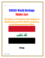 Middle East:  Iraq:  The Ahwar of Southern Iraq: Refuge of Biodiversity and the Relict Landscape of the Mesopotamian Cities