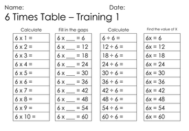 Mastery maths maths training 6 times table multiplying by mastery maths maths training 6 times table multiplying ibookread Download
