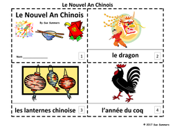 French Chinese New Year 2017 - 2 Booklets Le Nouvel An Chinois