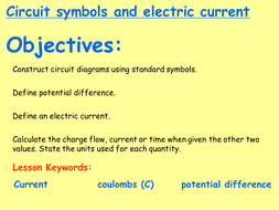 New AQA P2.1 (New GCSE Spec 4.2 - exams 2018) – Circuit symbols ...