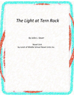 The Light at Tern Rock Novel Unit with Literary and Grammar Activities