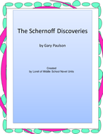 The Schernoff Discoveries Novel Unit With Literary and Grammer Activities