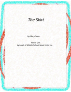 The Skirt Novel Unit With Literary and Grammar Activities