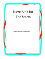 The Storm Book Unit with Literary and Grammar Activities - Featured