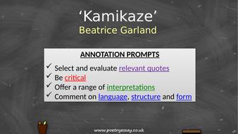 Beatrice-Garland---'Kamikaze'---Annotation---TES.pptx