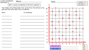 preview-4--chinese-new-year--locating-coordinates-in-the-First-Quadrant-worksheet-4.pdf