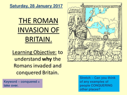 Why the Romans invaded Britain
