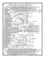Chilhood-Activities-1-Page-BW-Worksheet.pdf