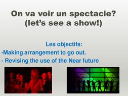 On va voir un spectacle unité 3 mod 1 - STUDIO AQA GCSE FRENCH HIGHER