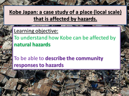 NEW AQA A Level Geography- Kobe a local scale area affected by hazards