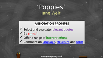 Jane-Weir---'Poppies'---Annotation---TES.pptx