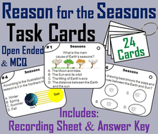 Seasons Task Cards