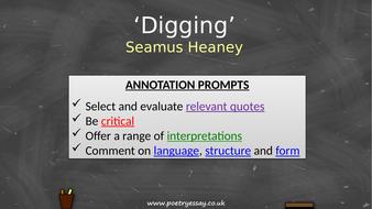 Seamus-Heaney---'Digging'---Annotation---TES.pptx
