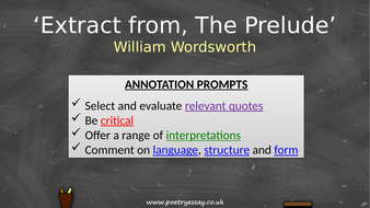 William-Wordsworth---'Extract-from--The-Prelude'---Annotation---TES.pptx