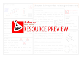 4-Properties Relating to Structure Revision Sheet.pdf