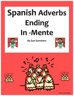 Adverbs -Mente Reference and Practice - Spanish Adverbs