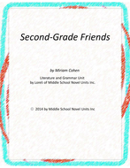 Second-Grade Friends Novel Units with Literary and Grammar Activities