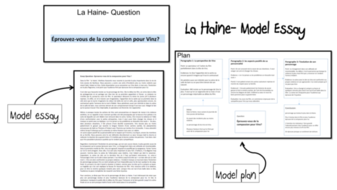 Human Condition Essay La Haine Model Essays  As And A French Lot Cause And Effect Essay On Poverty also Studying Abroad Essay La Haine Model Essays  As And A French Lot By Laprofdefrancais  Essays On Life Changing Experiences