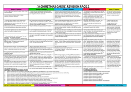 Revision task sheet for A Christmas Carol with differentiated tasks.   Teaching Resources