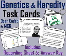 Genetics and Heredity Task Cards
